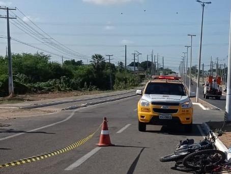Mulher morre vítima de acidente de trânsito em Assu
