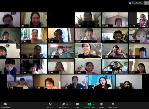9월 11일 한글 학교 온라인 개강