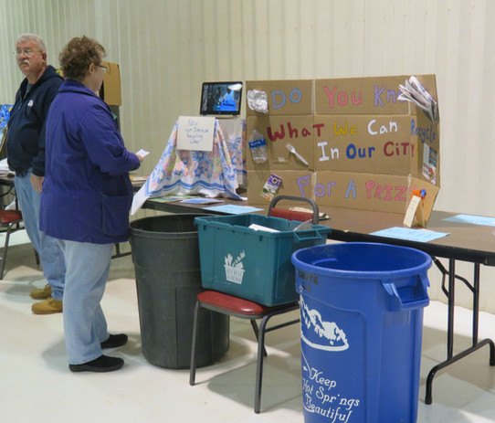 Recycling Activity at the Earth Day Expo