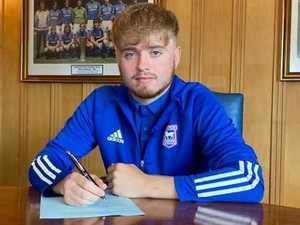 Callum Page signs pro deal with ITFC