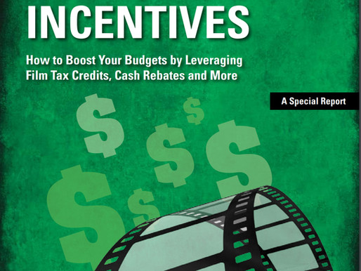 Studio Daily Presents: Production Incentives