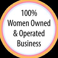 100percent Women Owned LOGO-REV color.pn