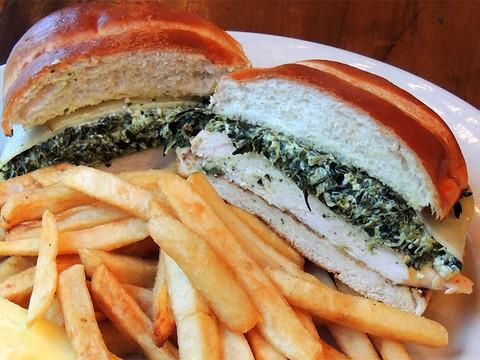 Chicken Florentine Sandwich