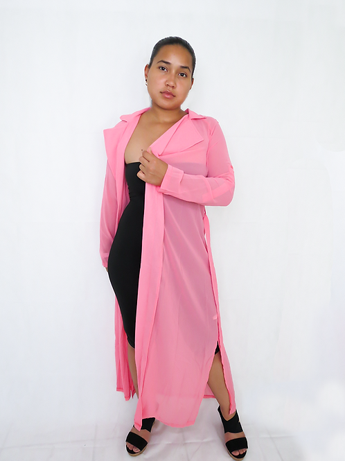Love me in Pink Cardigan