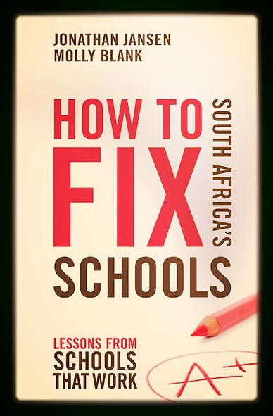 book image- fix south africa's schools