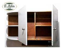 Mueble empotrado para cocina #elatelierarca #wood #arte #restauración #creación #ambientación