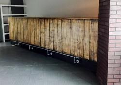 barra de bar industrial