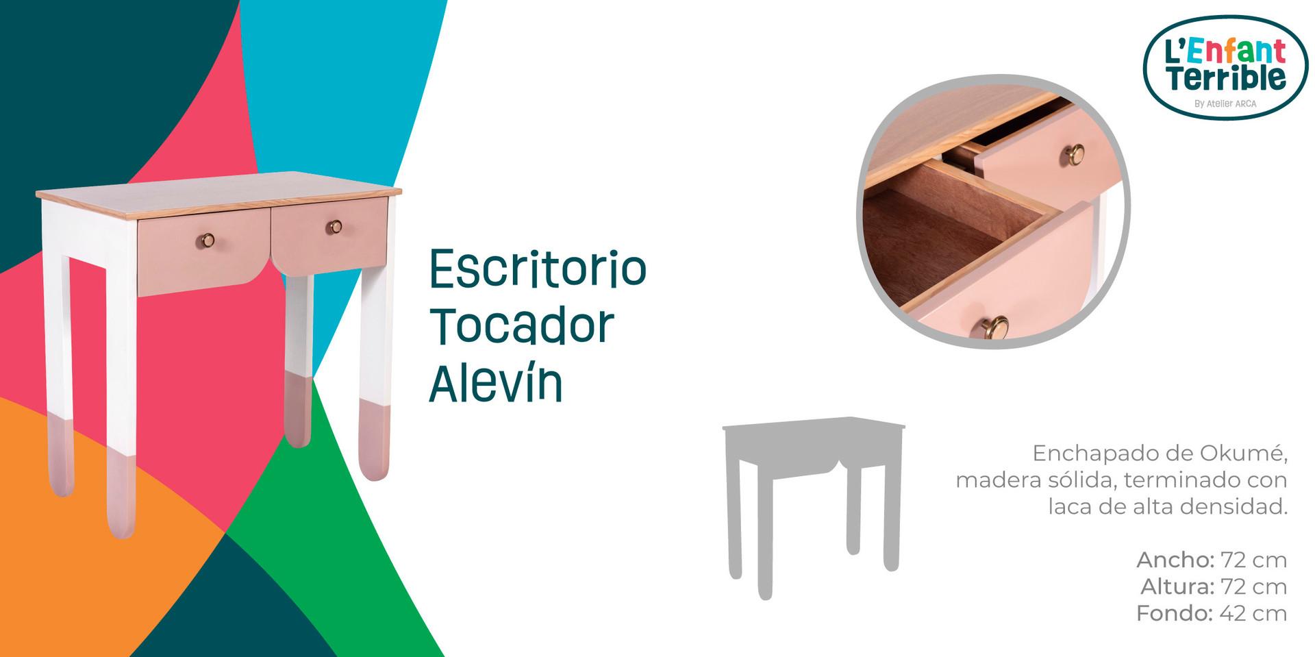 Escritorio - Tocador Alevín