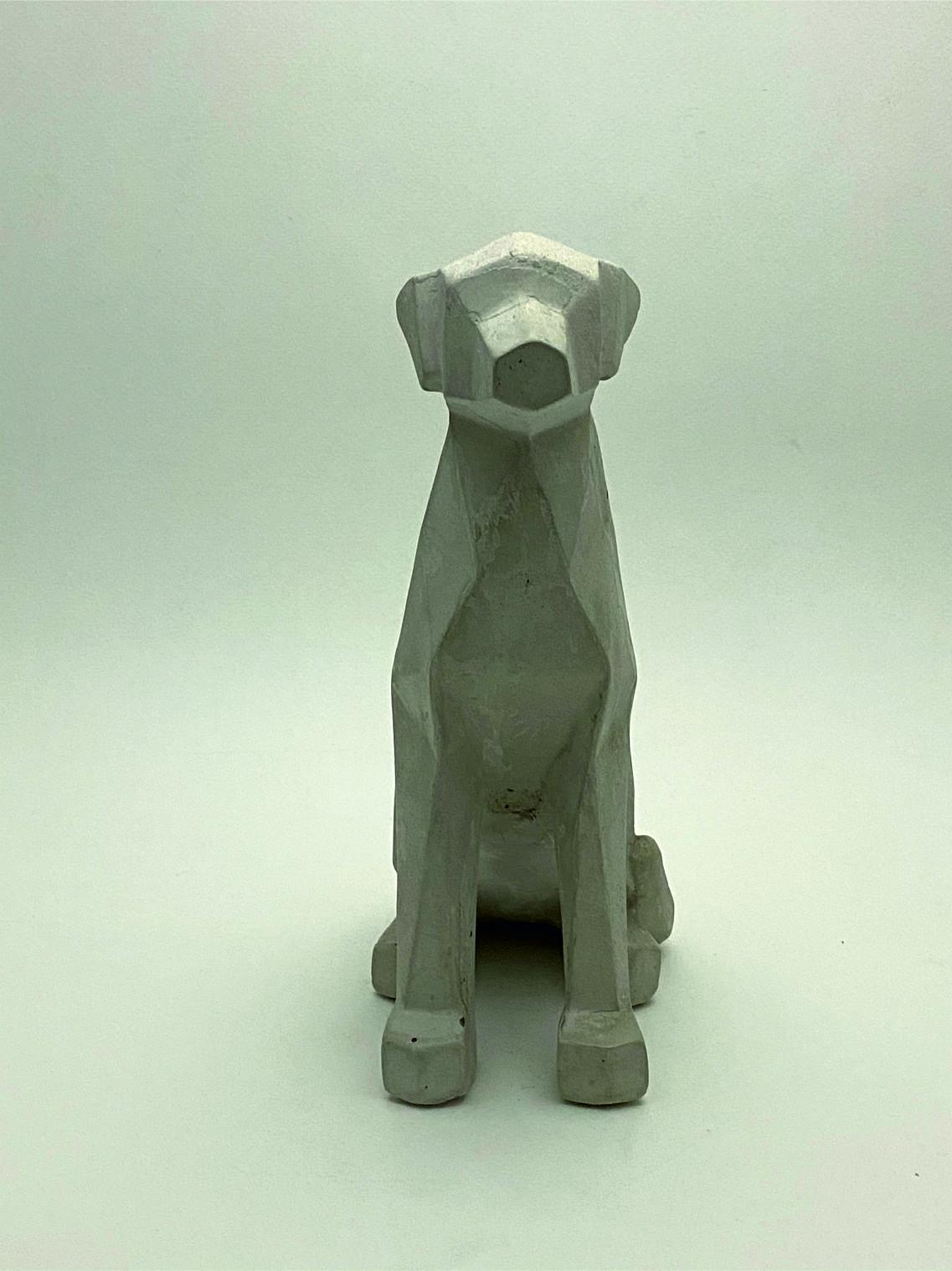 Perro Geometrico cemento frente