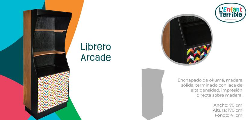 Librero Arcade