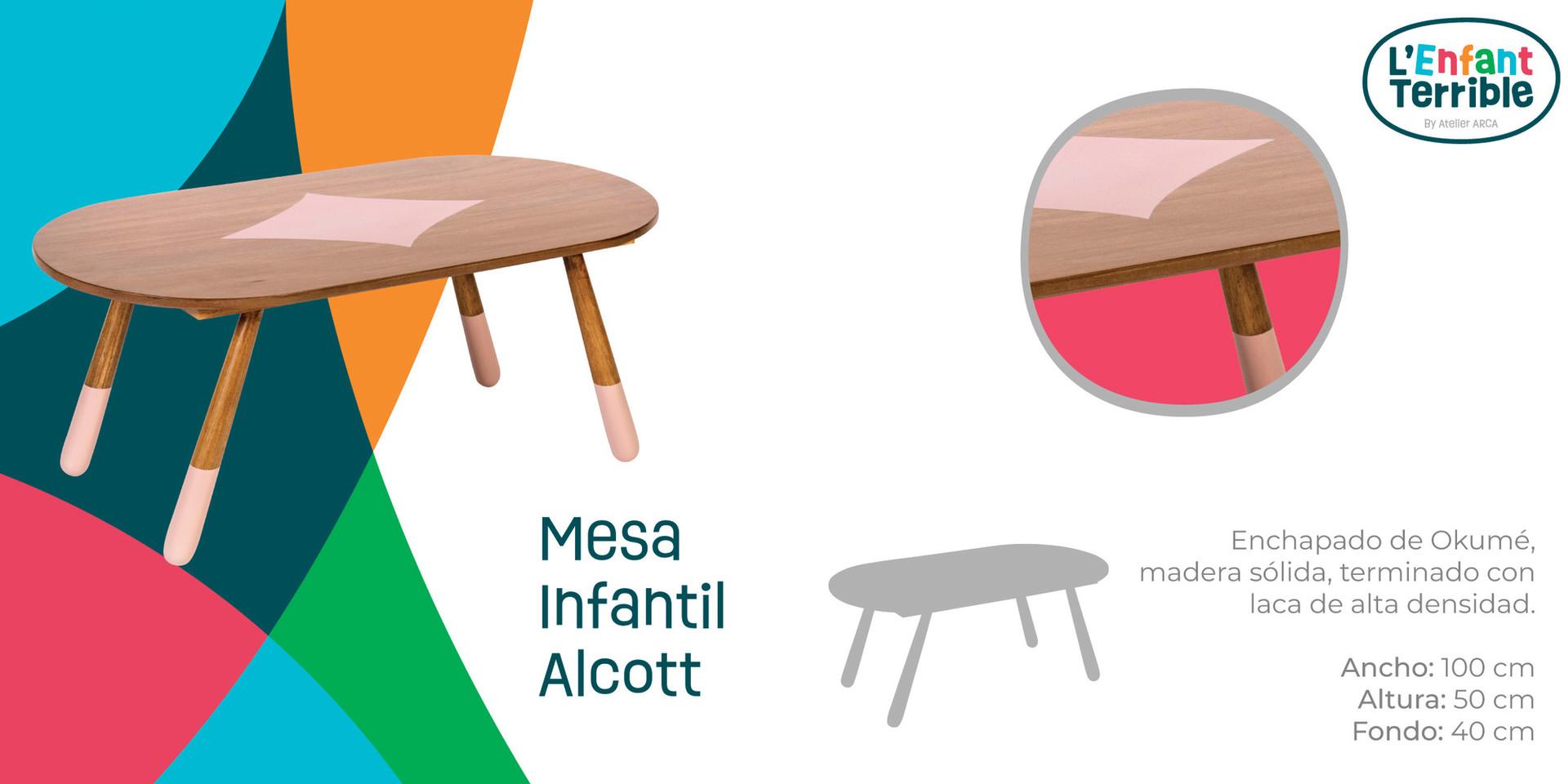 Mesa Infantil Alcott