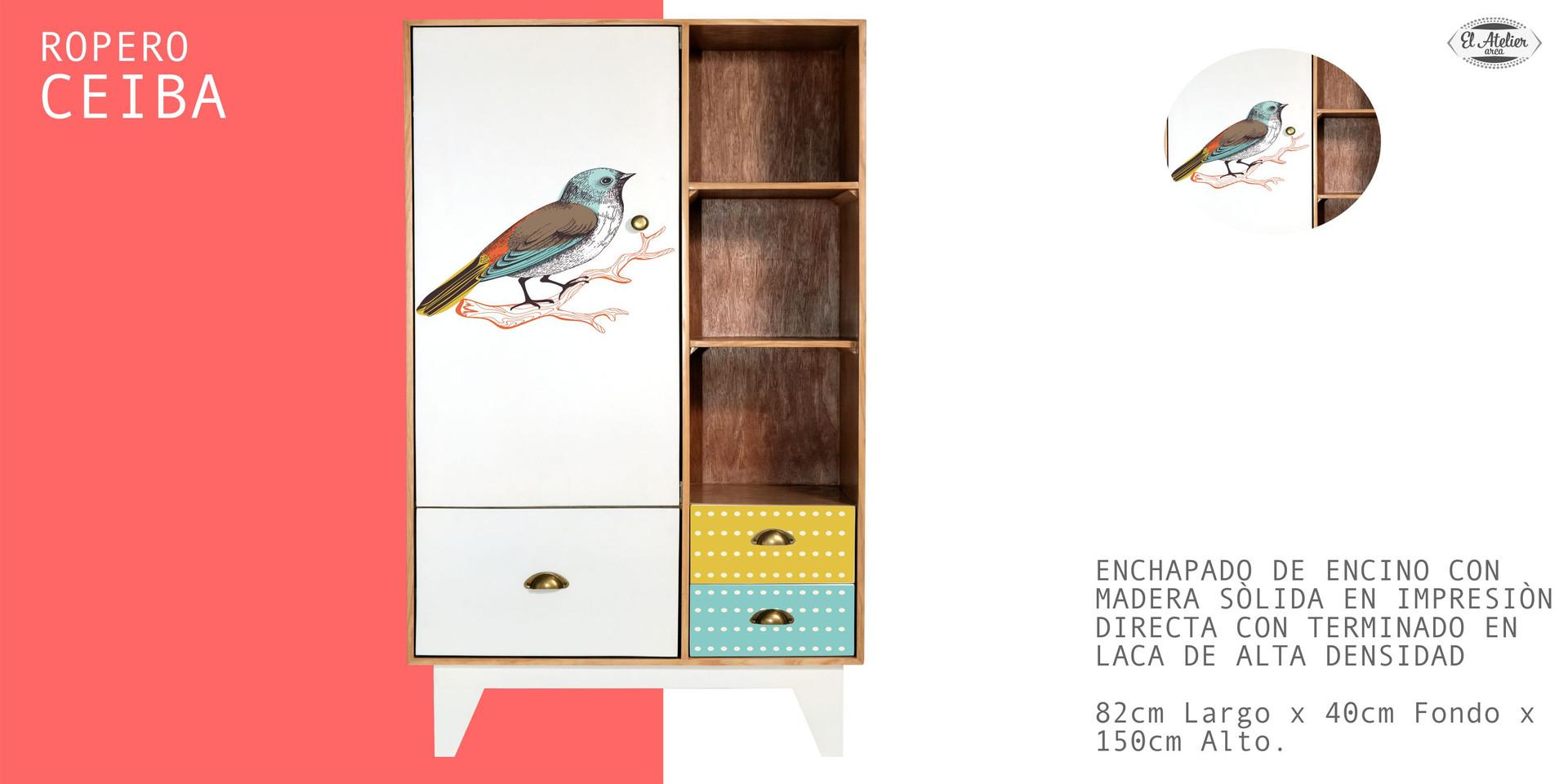 Ropero Ceiba Pájaro