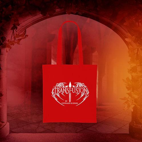 Transfusion Logo Tote Bag