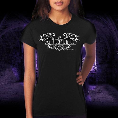 T-Shirt Black Round Neck Afterlife Logo