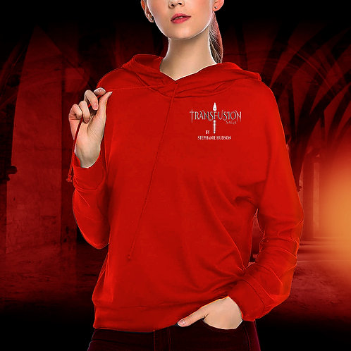 Transfusion Official Logo Hoodie In Red