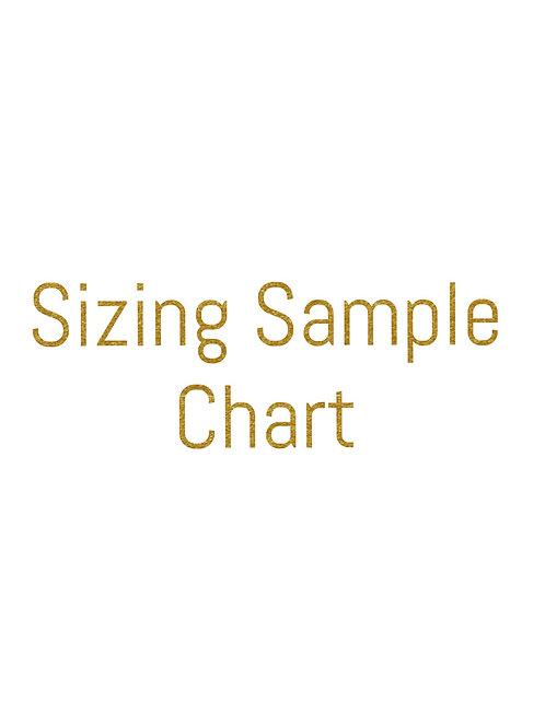 Sizing Sampling Chart