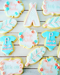 Baby Shower Decorated Sugar Cookies_Avai