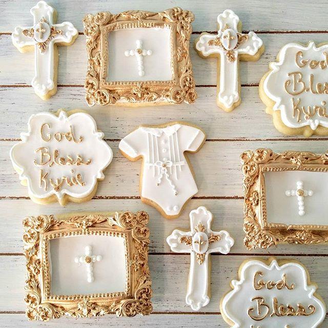 Baby Christening Cookies_#treatsandsweet