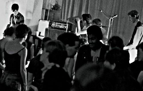 punk crowd