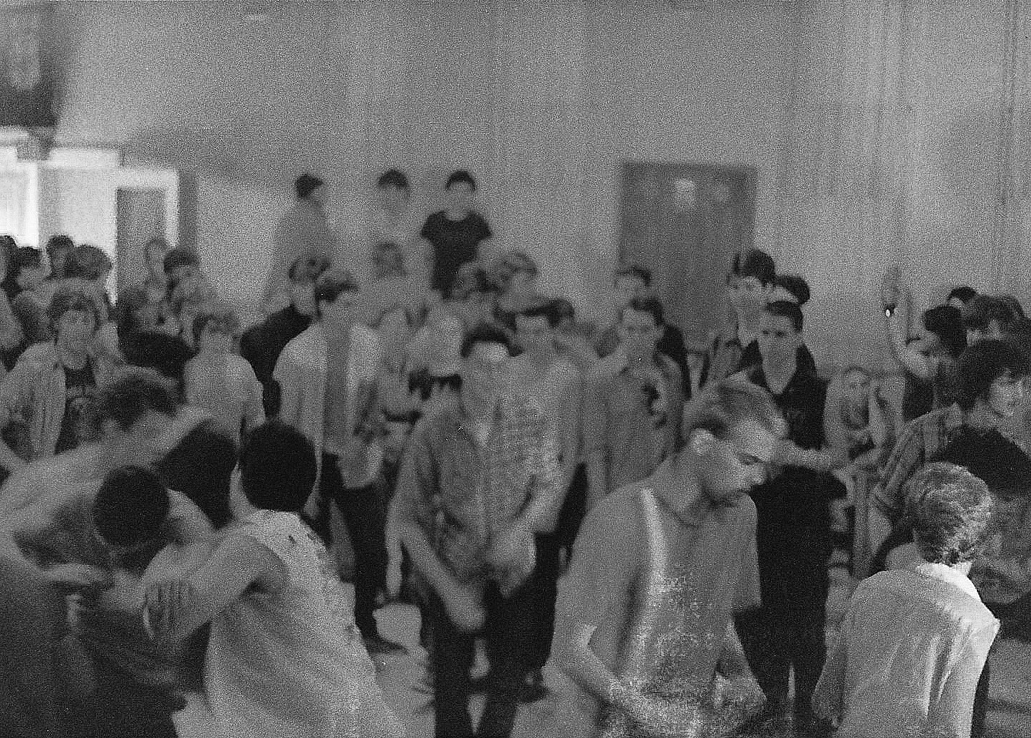 The crowd at Minor Threat