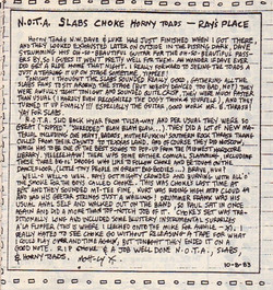 Mott-ly review of N.O.T.A. gig