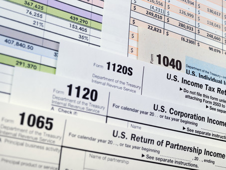2021 Tax Filing Due Dates