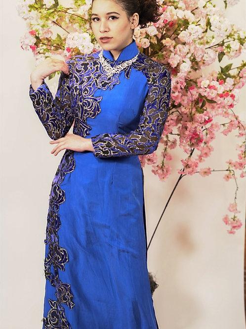 Blue Dream Ao Dai
