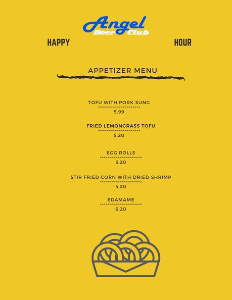 angel beer club menu