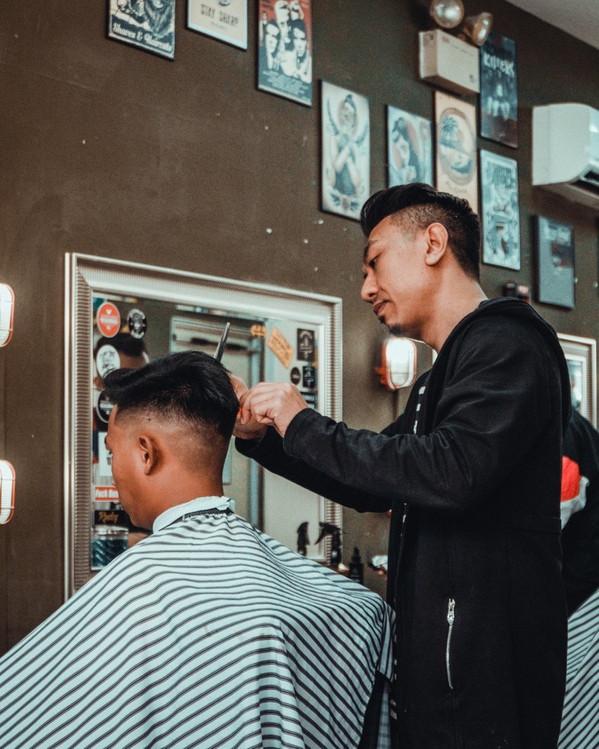 barbershop photography