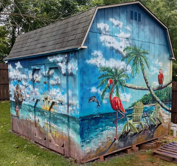 Backyard Paradise at Undisclosed Location