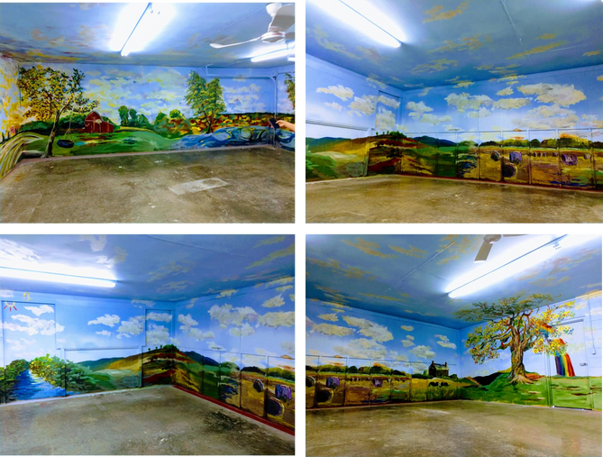 Kids Room at Monroe Co. Fairgrounds