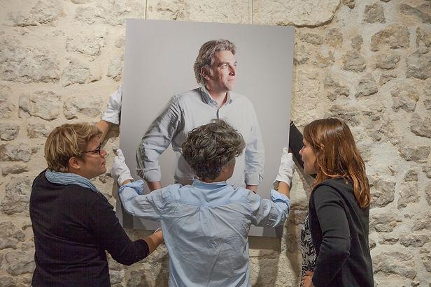 Exposition Le portrait, le paysage et le citoyen, Julie Boileau, Catherine Rebois, Fanny Legros, François Rochon, David Chiousse