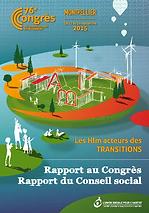 François Rochon - Rapport au Congrès USH 2015