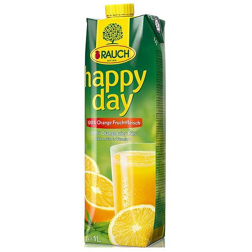 Happy Day Orange with Juicy Bits 1 Litre