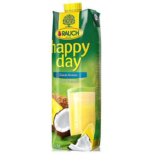 Happy Day Coco Pineapple 1 Litre