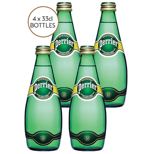 Perrier 4 x 33cl Bottles