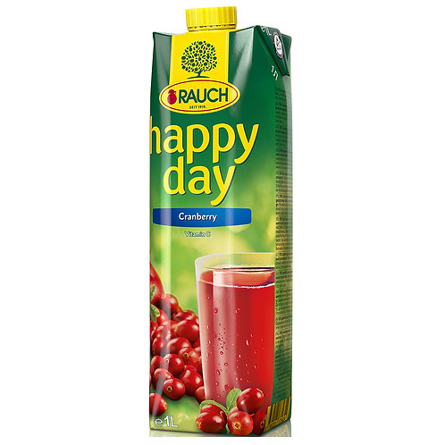 Happy Day Cranberry  1 Litre