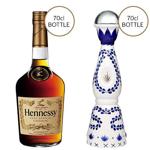 Hennessy V.S Cognac & Tequila Clase Azul Reposado