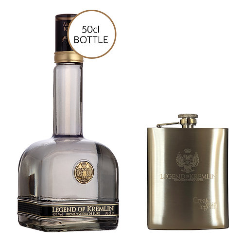 2 x Legend of Kremlin & Flask