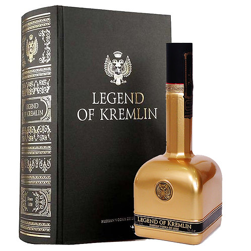 Legend of Kremlin, Gold with Gift Pack (70cl)