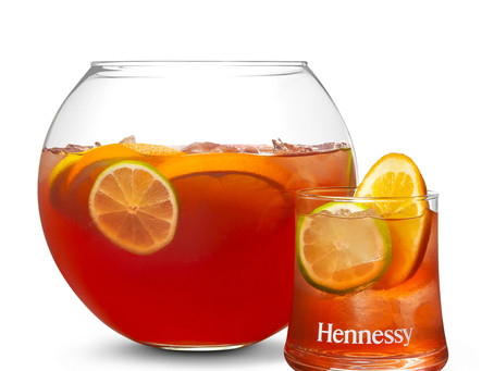 HENNESSY SUNSET PUNCH COCKTAIL