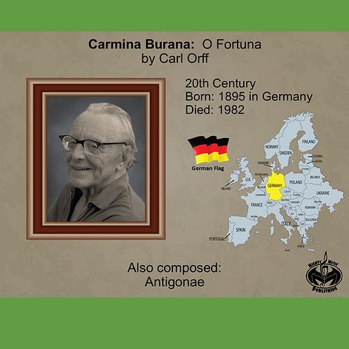 Module 9 for Choir - Orff: Carmina Burana: O Fortuna