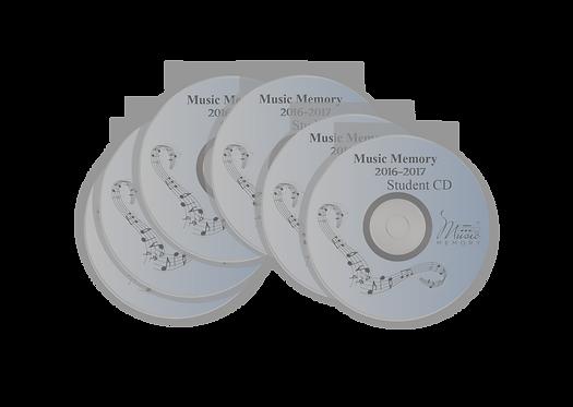 2016-2017 Student Practice CD (6 CDs)