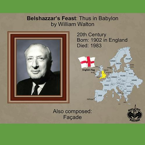 Module 10 for Choir - Walton: Belshazzar's Feast: Thus in Babylon