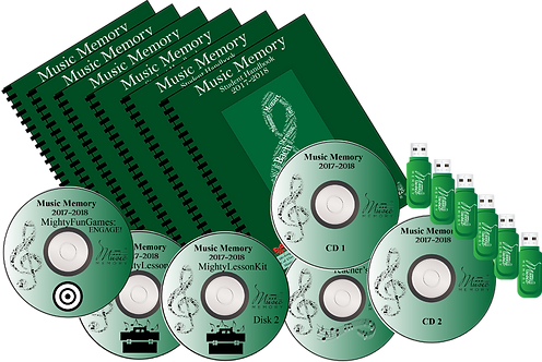 2017-2018 PSIA Year-Long Disk Ver w/6 Flashdrives