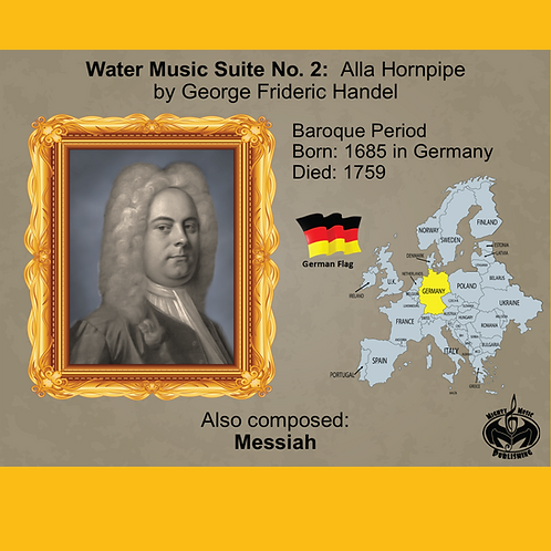 Module 2 for Orchestra - Handel: Water Music Suite 2: Alla Hornpipe