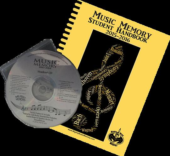 2015-2016 Student Handbook with CD