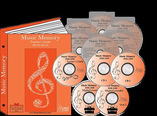 Value Pkg Print Binder w Discs +6 CDs