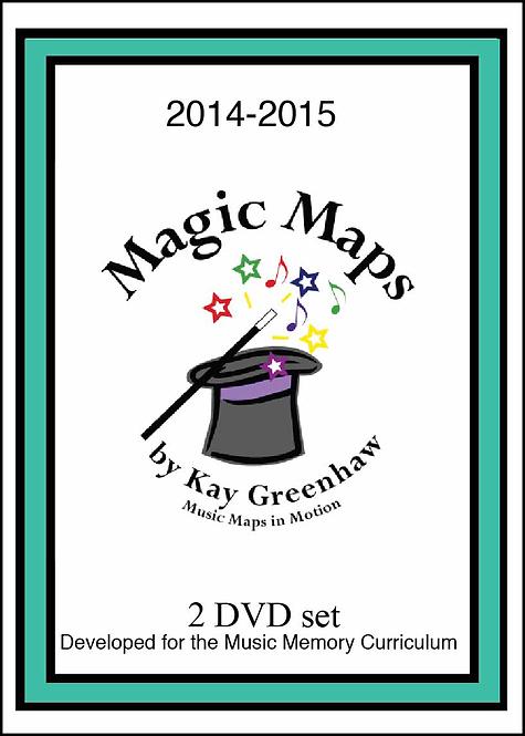 MAGIC MAPS© DVD by Kay Greenhaw
