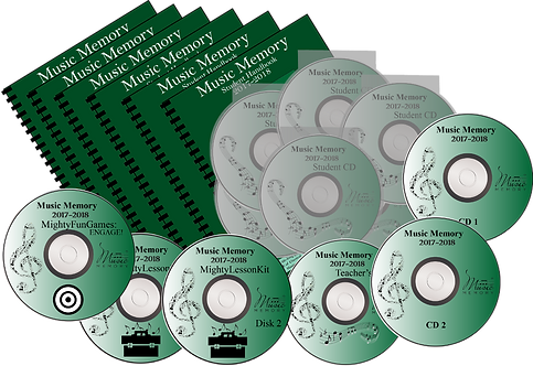 2017-2018 PSIA Year-Long Disk Version w/6 CDs